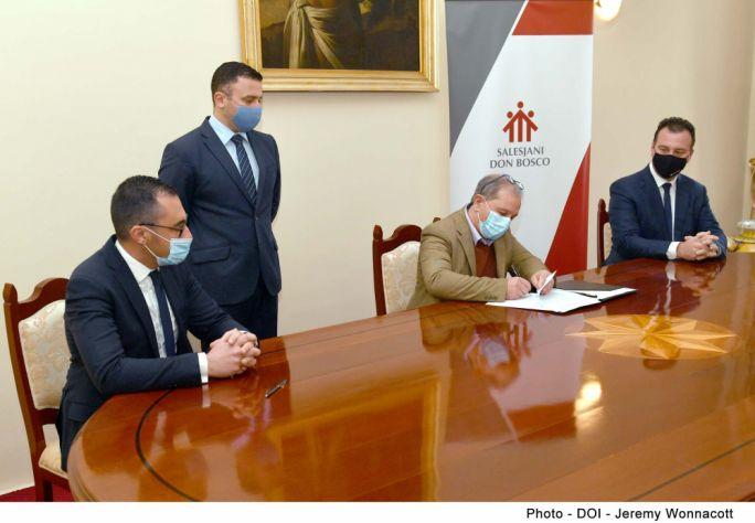 Málta és a szaléziak egyesítik erejüket